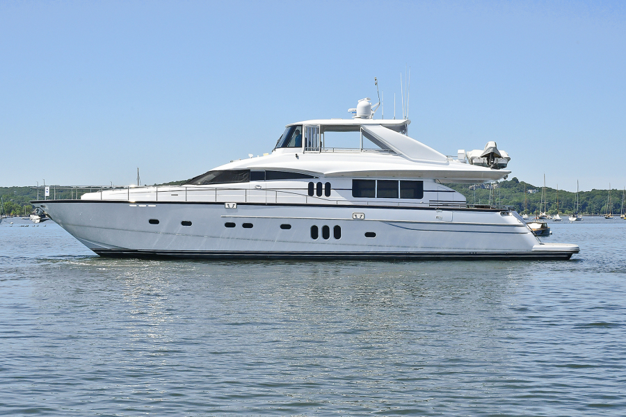 Princess-84 Flybridge  2006-Impromptu II Center Island-New York-United States-Port Side-1181755-featured
