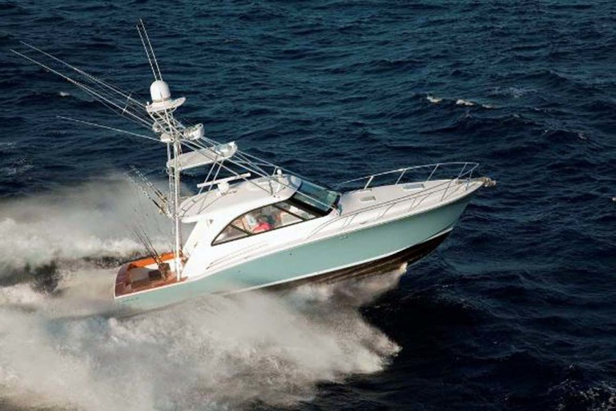photo of 45' Hatteras 45 Express with Tower 2022