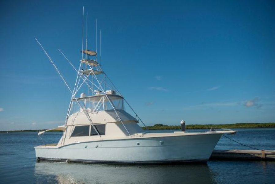 photo of 52' Hatteras Convertible 1985