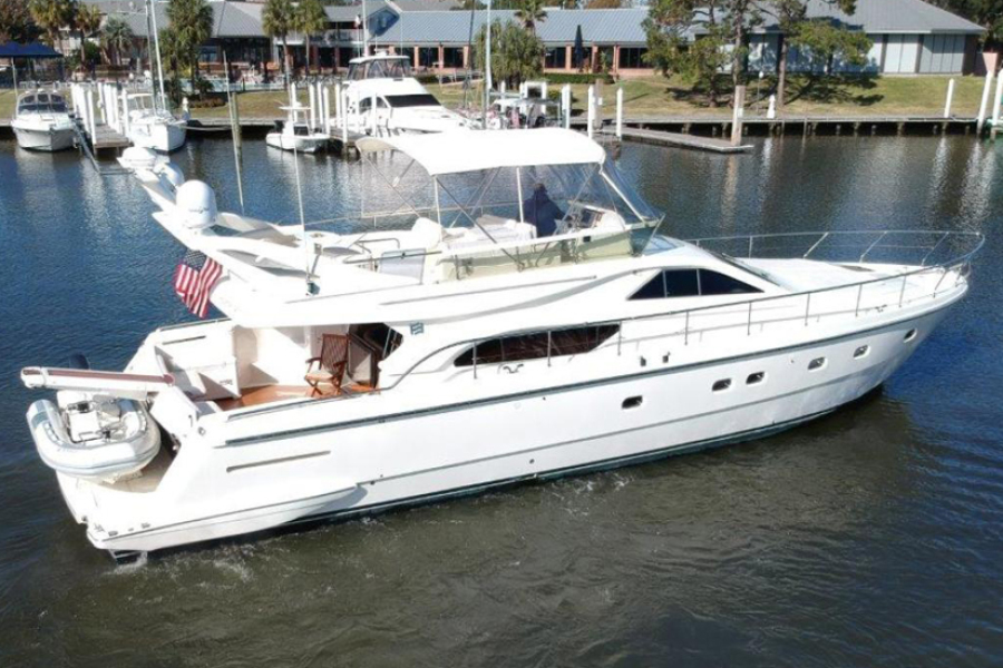 Ferretti Yachts-57 Motor Yacht 2001-Whine Cooler Seabrook-Texas-United States-Ferretti Motor Yacht 2001 Whine Cooler-1099234-featured