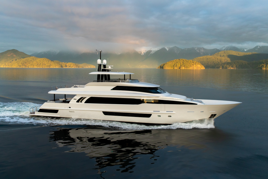 Photo of 117' Crescent Custom Fast Pilothouse Yacht 2020