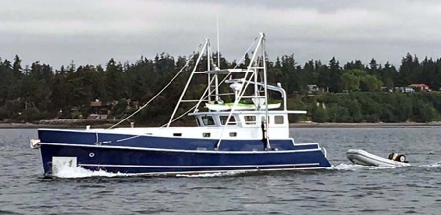 photo of 42' Webbers Cove 1966/2004 Custom Trawler 1966
