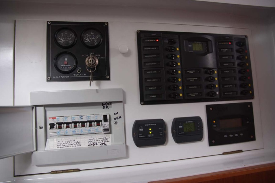 Electrical Panel Generator controls