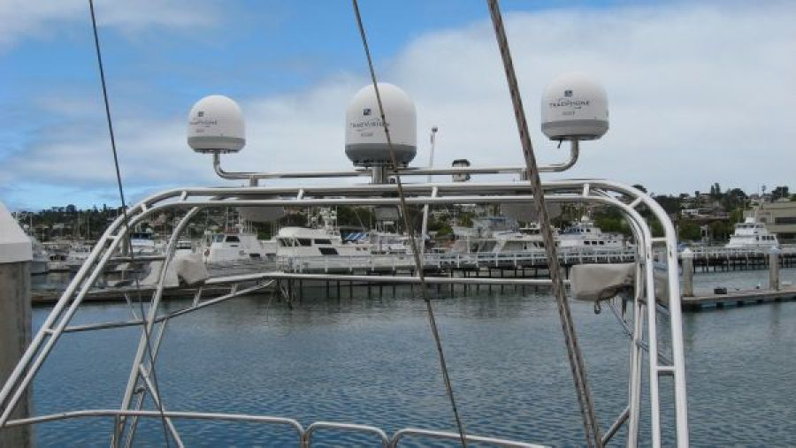 Satalite Domes for TV and Phone
