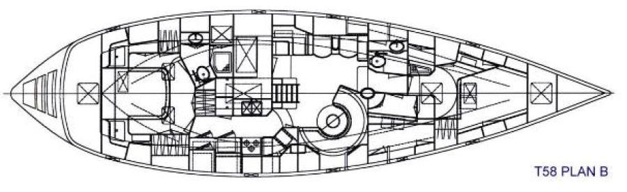 Interior layout drawing