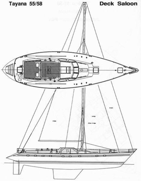 Line drawing - Deck Layout