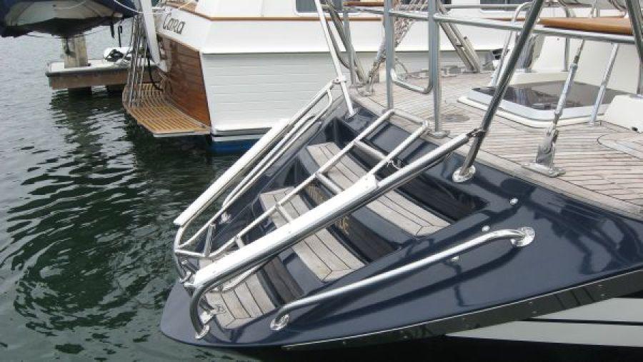 Custom tender skid plates - steps - swim ladder