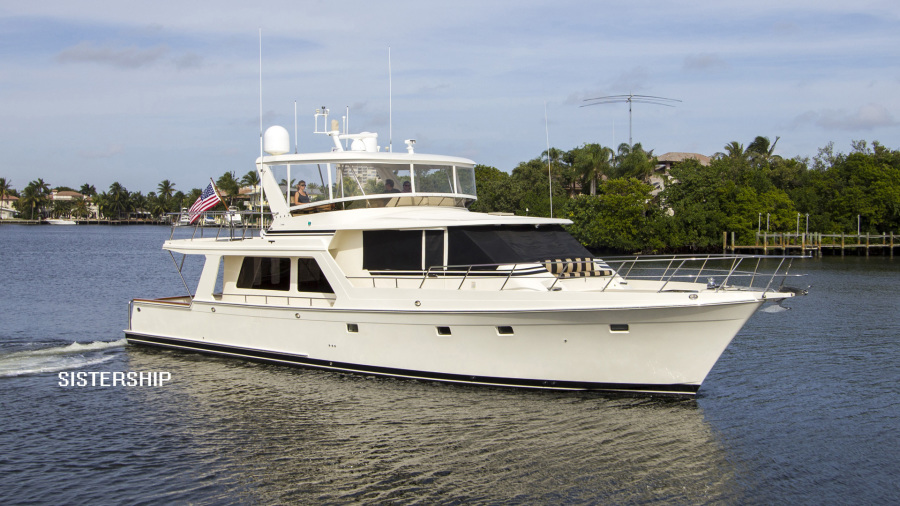 Offshore Yachts-Pilothouse 2001-Sandman II Fort Lauderdale-Florida-United States-1424746-featured