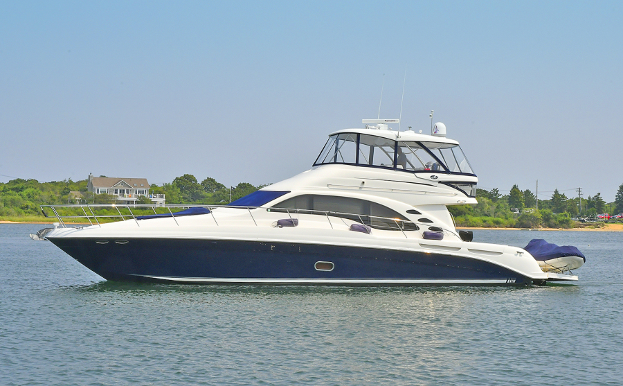 Sea Ray-58 Sedan Bridge 2007-Patti Ann IV Stuart-Florida-United States-Port Side-1117320-featured