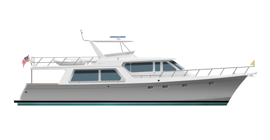 Photo of 64' Offshore Yachts Pilothouse 2020