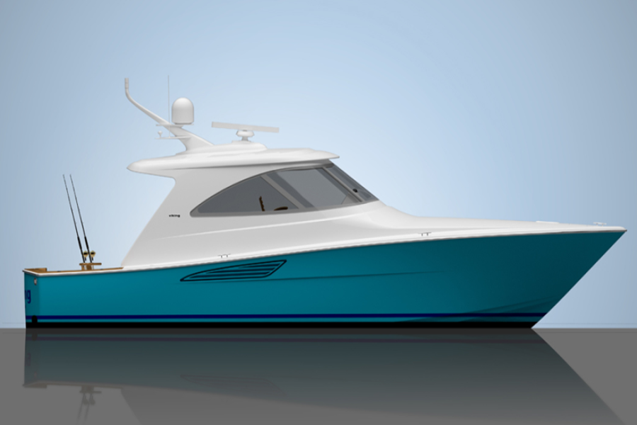 2020 Viking 44 Sport Coupe yacht for sale in Anna Maria, Florida