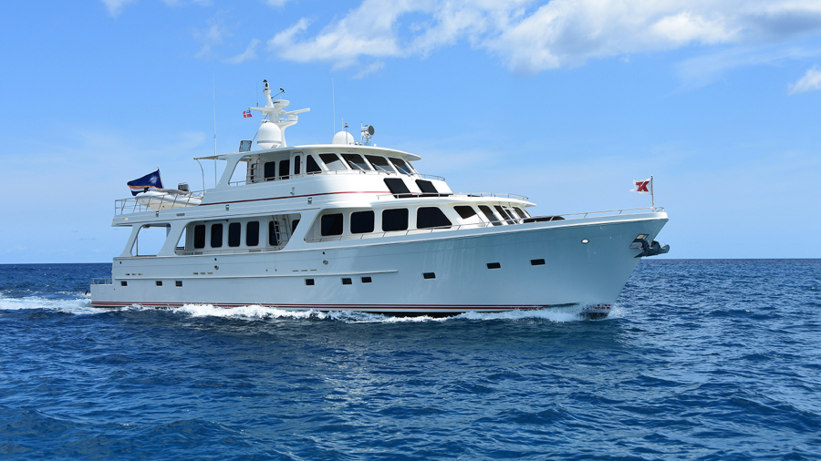 Photo of 85' Offshore Yachts Voyager 2007