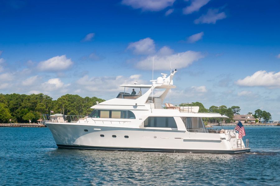 photo of 72' Cheoy Lee Pilothouse Motor Yacht 2002