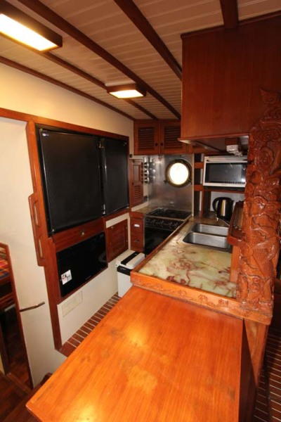 Galley with Countertop Extension