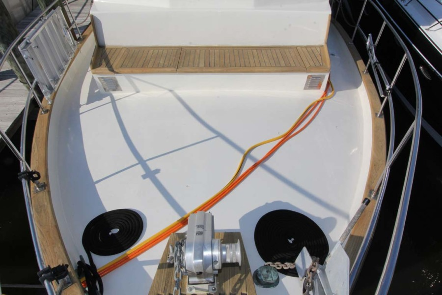 Foredeck From Pulpit