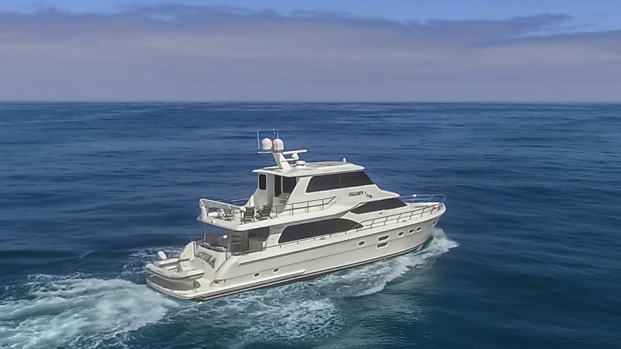 Photo of 76' Hampton 76' Skylounge Motoryacht 2014