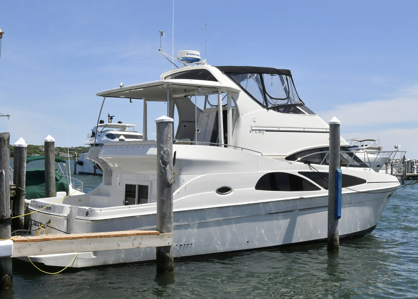 Carver-41 Cockpit Motor Yacht 2006-Uncle Joe Montauk-New York-United States-Starboard Side-1175332-featured