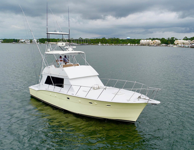 photo of 50' Hatteras 50 Convertible 1982