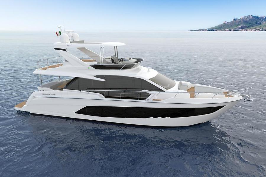 Absolute-62 Fly 2021-ON ORDER Staten Island-New York-United States-Starboard Side-1185879-featured