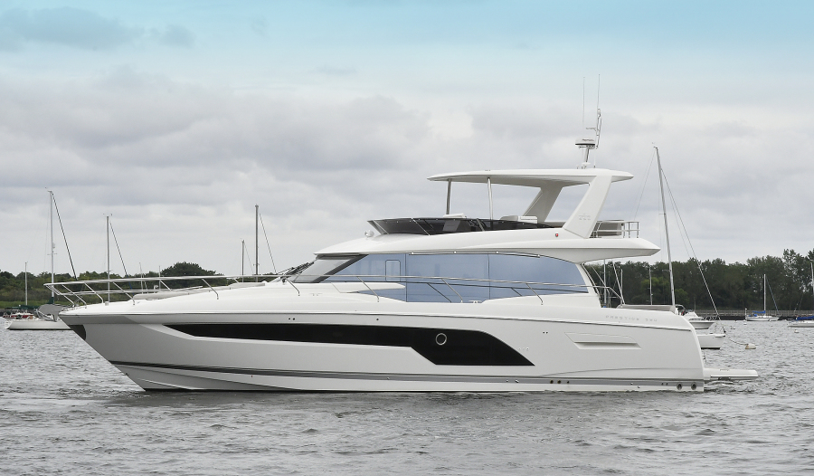 Prestige-590 Flybridge 2020-IN STOCK Staten Island , NY-New York-United States-Port Side-1232991-featured