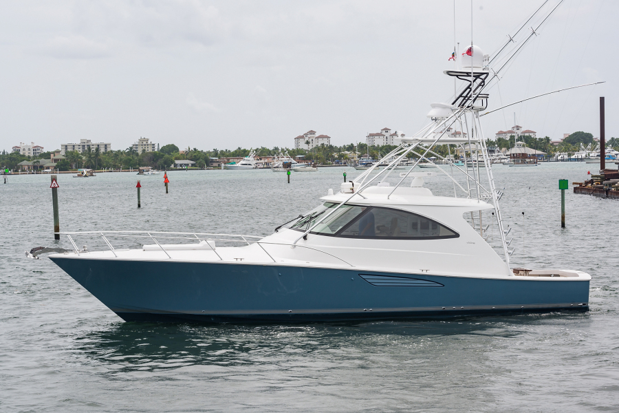 Viking-52 Sport Tower 2018 -Palm Beach -Florida-United States-Port Side-1198024-featured