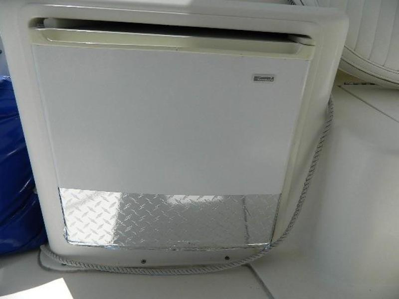 1997 Ocean Yachts 48 Super Sport - Helm Refrigerator