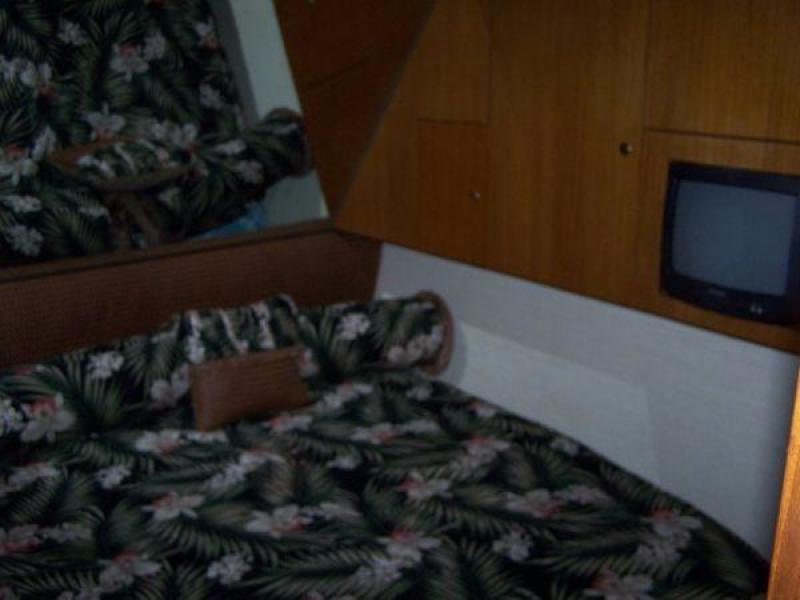 1997 Ocean Yachts 48 Super Sport -SAMBVCA - Stateroom