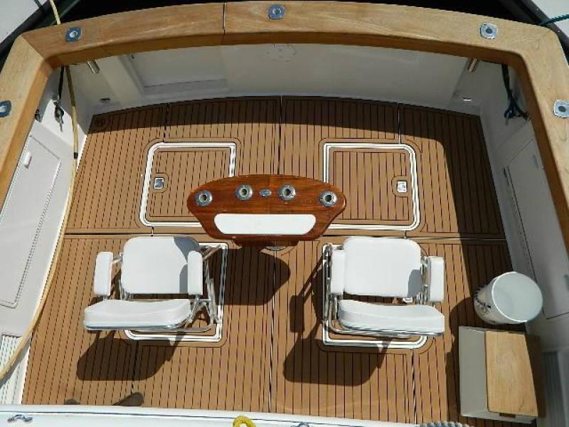 1997 Ocean Yachts 48 Super Sport - Cockpit