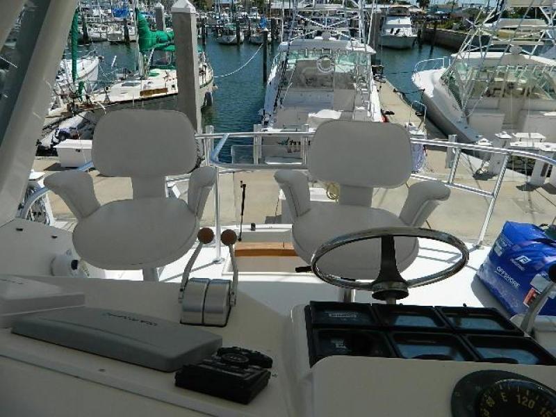 1997 Ocean Yachts 48 Super Sport - Helm