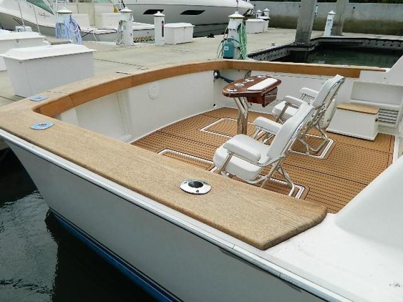 1997 Ocean Yachts 48 Super Sport -SAMBVCA  - Cockpit