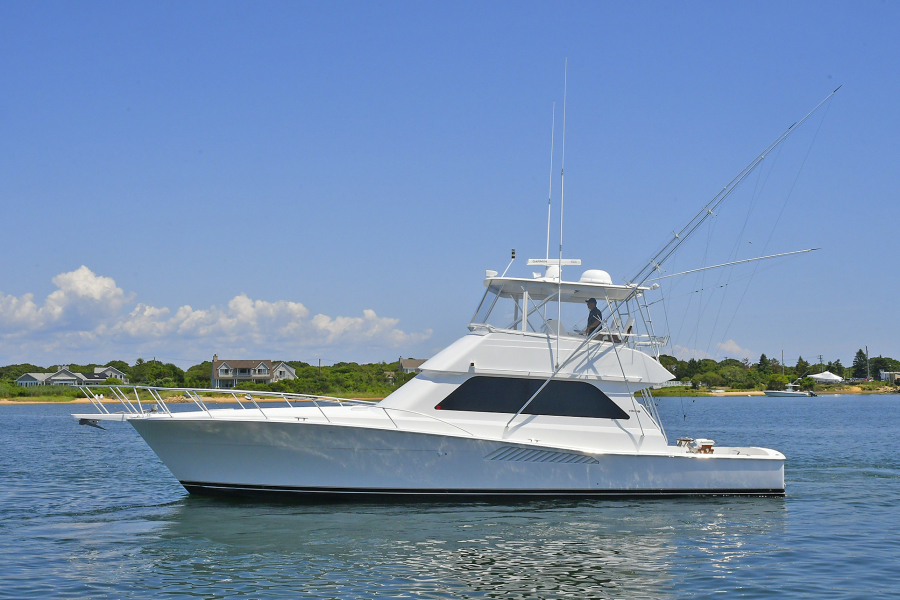 Viking-50 Convertible  2001-Reel Savage Freeport-New York-United States-Port Side-1203767-featured