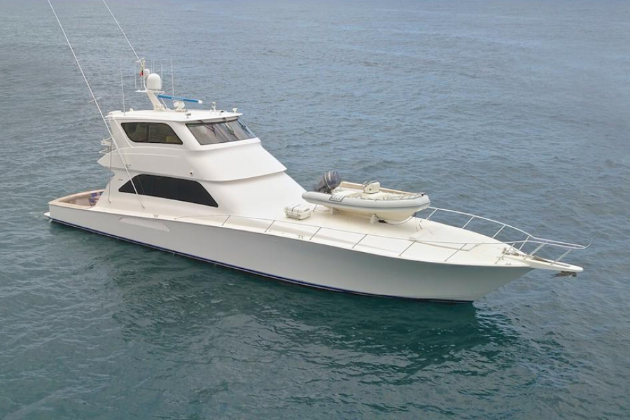 photo of 74' Viking 74 Enclosed Bridge 2005