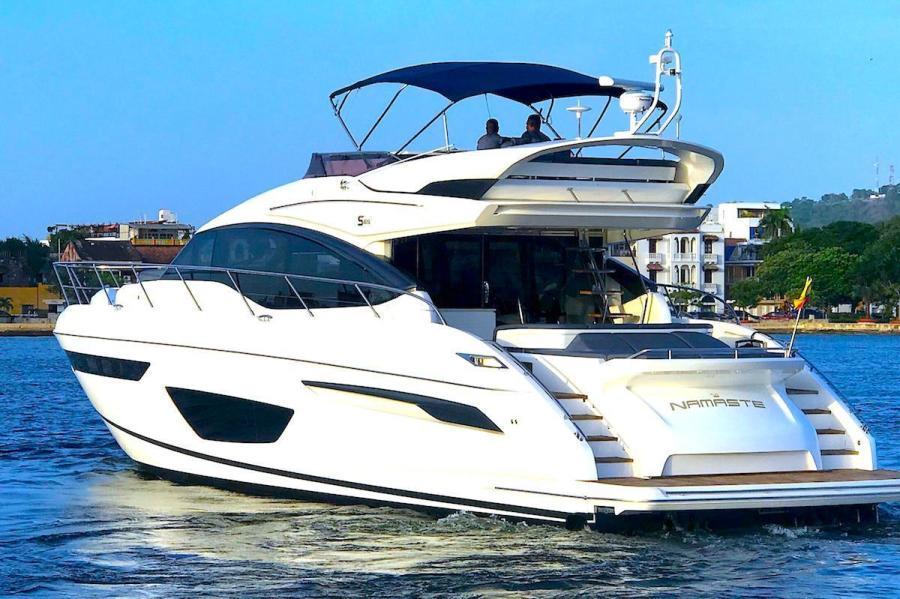 Princess Yachts International-S65 2017-Namaste Cartagena-Colombia-2017 Princess S65 NAMASTE For Sale-1352519-featured