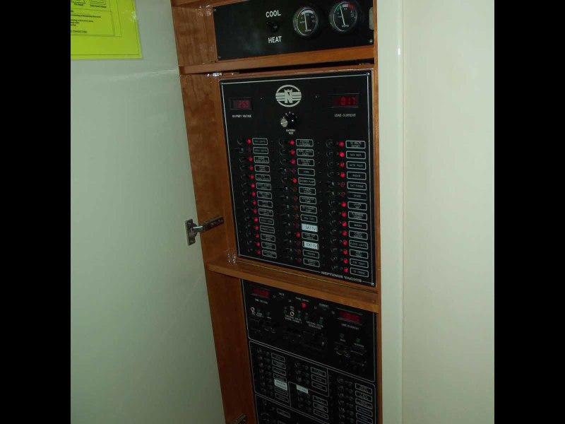 Companionway Electric Panel