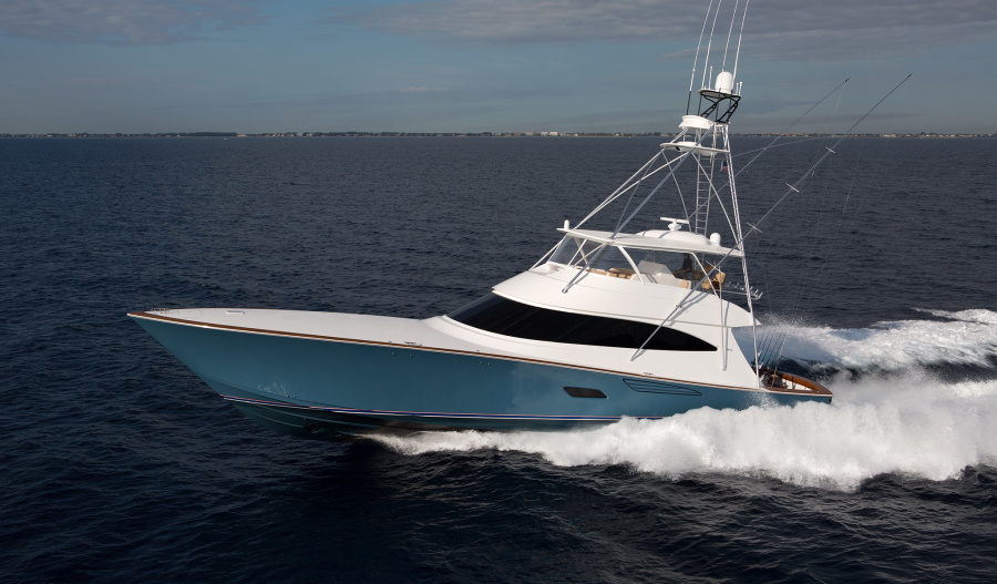 Viking-80 Convertible 2020-NEW BUILD Staten Island-New York-United States-Port Side-1209235-featured