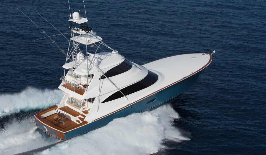 Viking-80 Enclosed Bridge 2020-NEW BUILD Staten Island-New York-United States-Starboard Side-1209294-featured