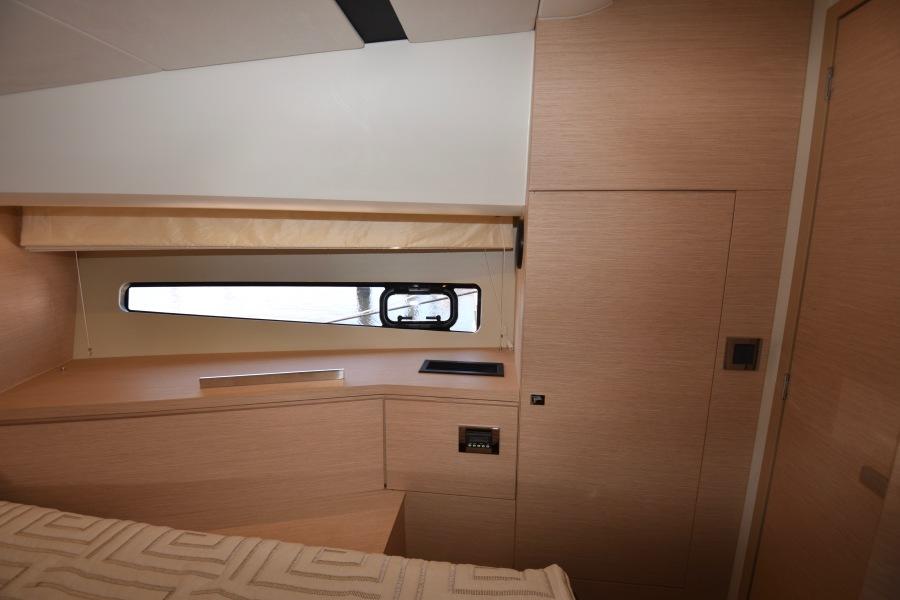 2017 Prestige 420 Flybridge - Sistership  Master Stateroom Cabinet