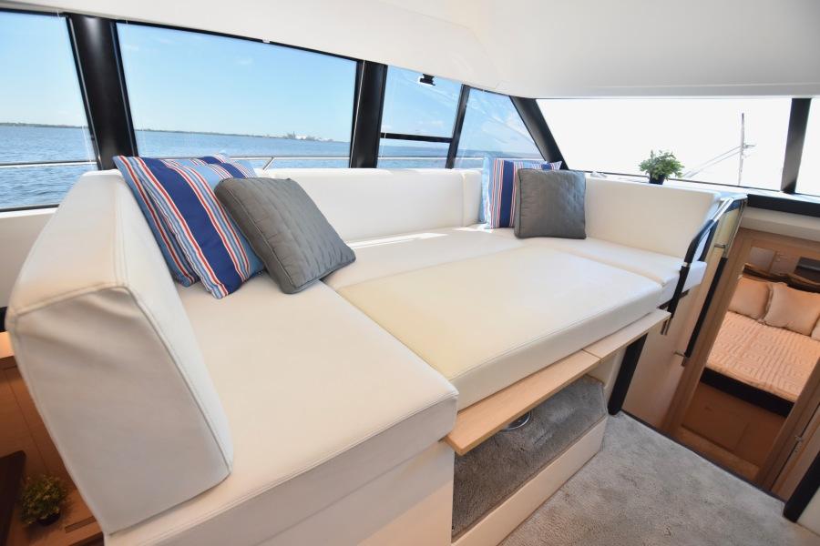 2017 Prestige 420 Flybridge - Sistership Dinette Converted Berth