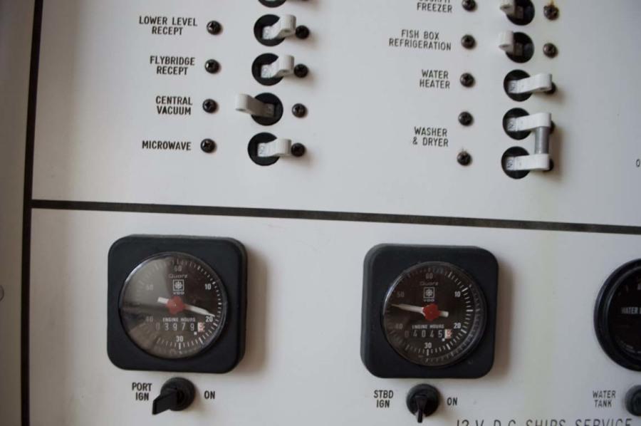 Engine Clocks With Original Hours