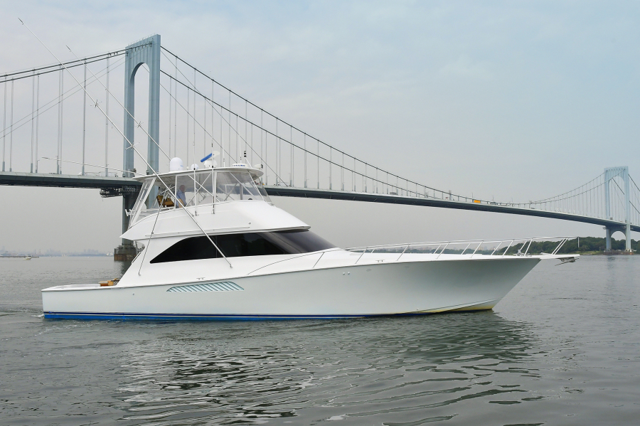 Viking-56 Convertible with Mezzanine 2004-Katherin Whitestone-New York-United States-Starboard Side-1221455-featured