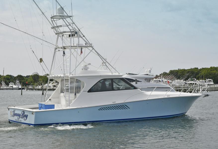 Starboard Side Stern