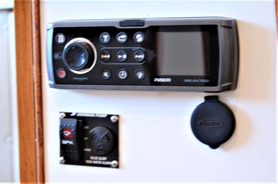 Stereo And High Water Alarm Panel