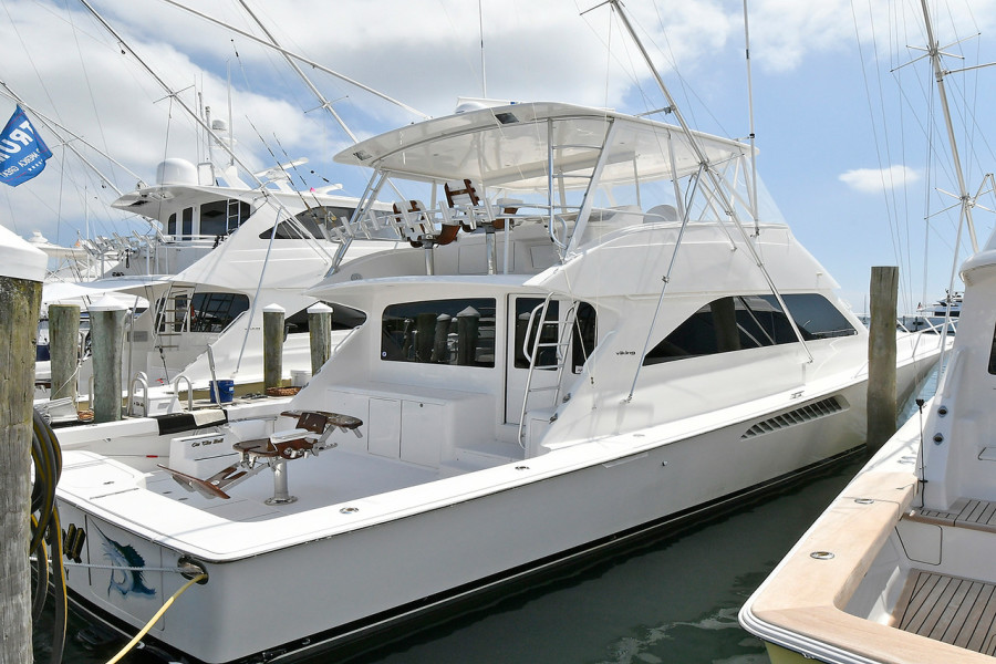 Viking-56 Convertible 2006-On The Ball Montauk-New York-United States-Starboard Side-1240870-featured