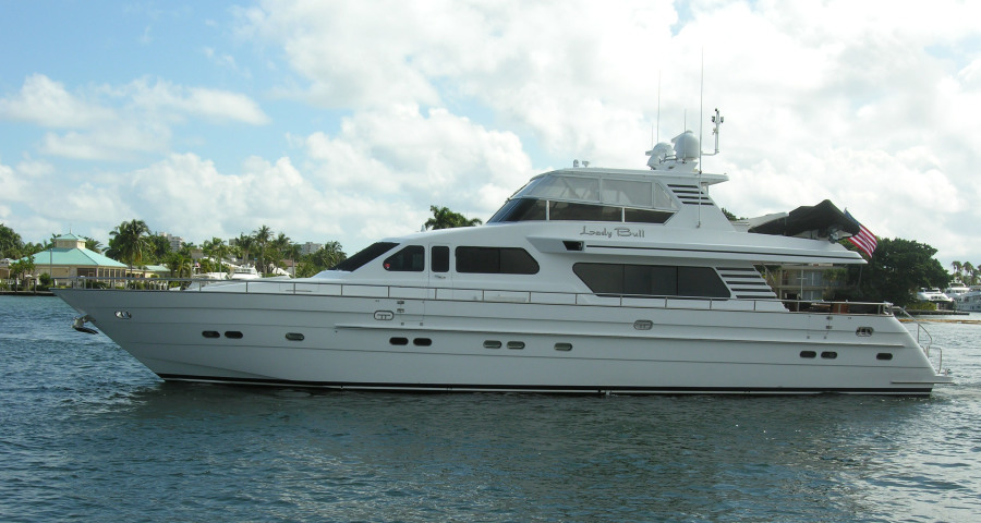 photo of 82' Horizon Flybridge Motor Yacht 2001