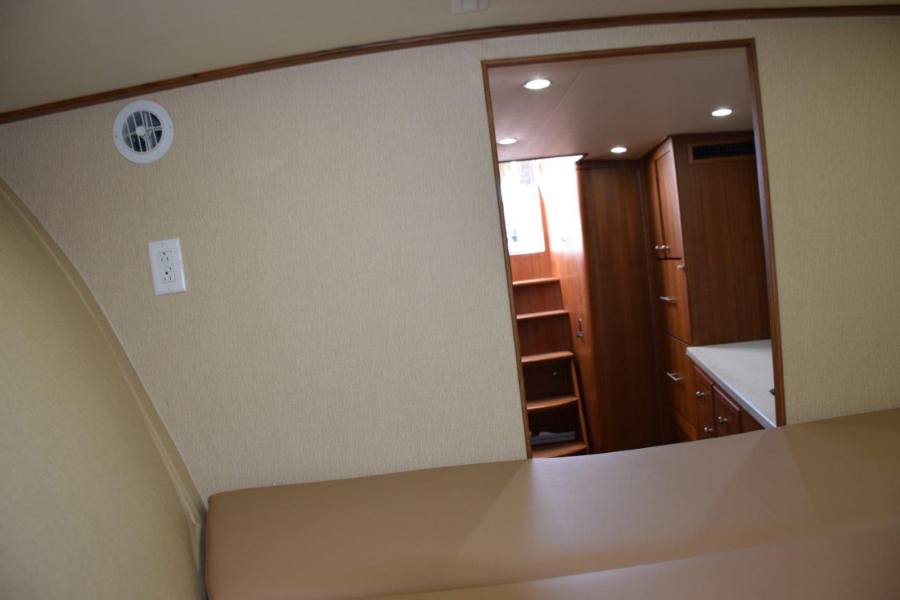 A/C and some privacy in berth area