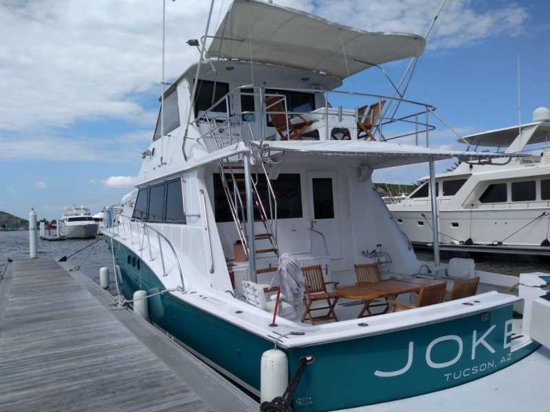 photo of 60' Hatteras Sport Fishman 2019