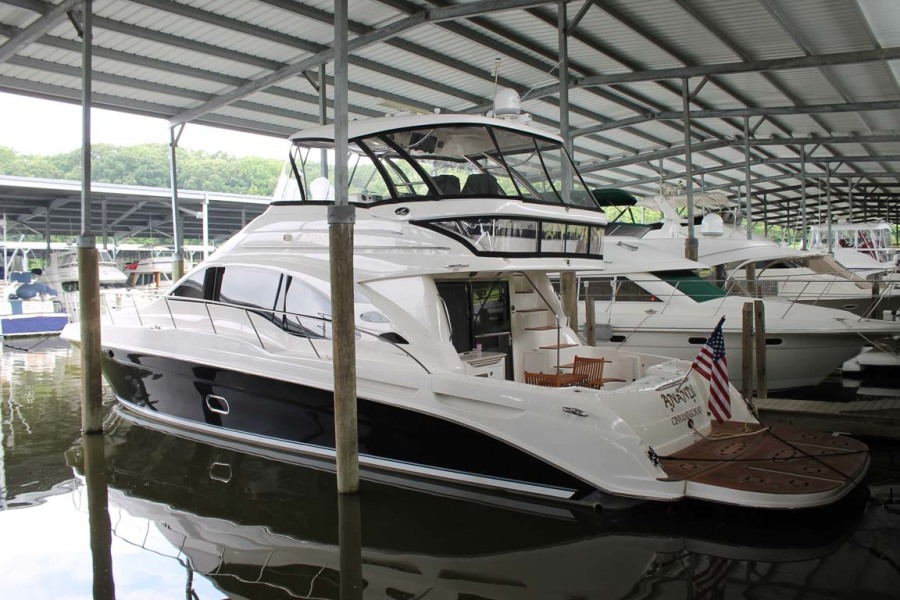 Sea Ray-58 Sedan Bridge 2008-ANANDI Chesapeake City-Maryland-United States-Main Profile-1274083-featured