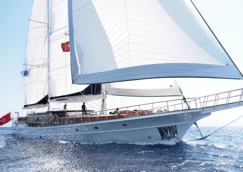 photo of 144' Ketch Pax Navi Yachts 2010