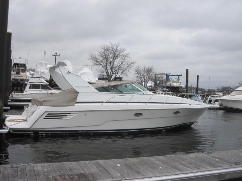 Trojan-40 Express Cruiser 1998-Andiamo Giorgio Cranston-Rhode Island-United States-Starboard Side-1283035-featured