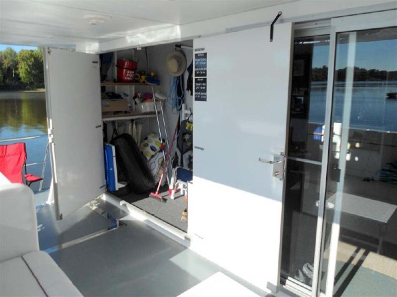 Aft Storage Locker
